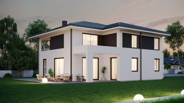 wizualizacja-domu-jednorodzinnego-łazy-2