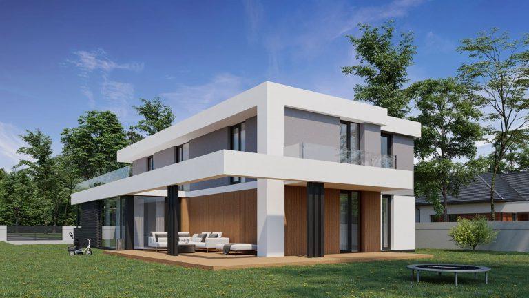 wizualizacja-domu-jednorodzinnego-łazy1-2